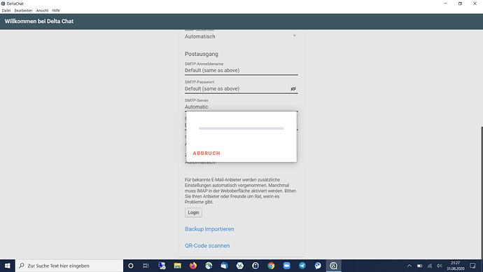 error_DeltaChat_Install